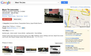 Optimized Google Local Listing